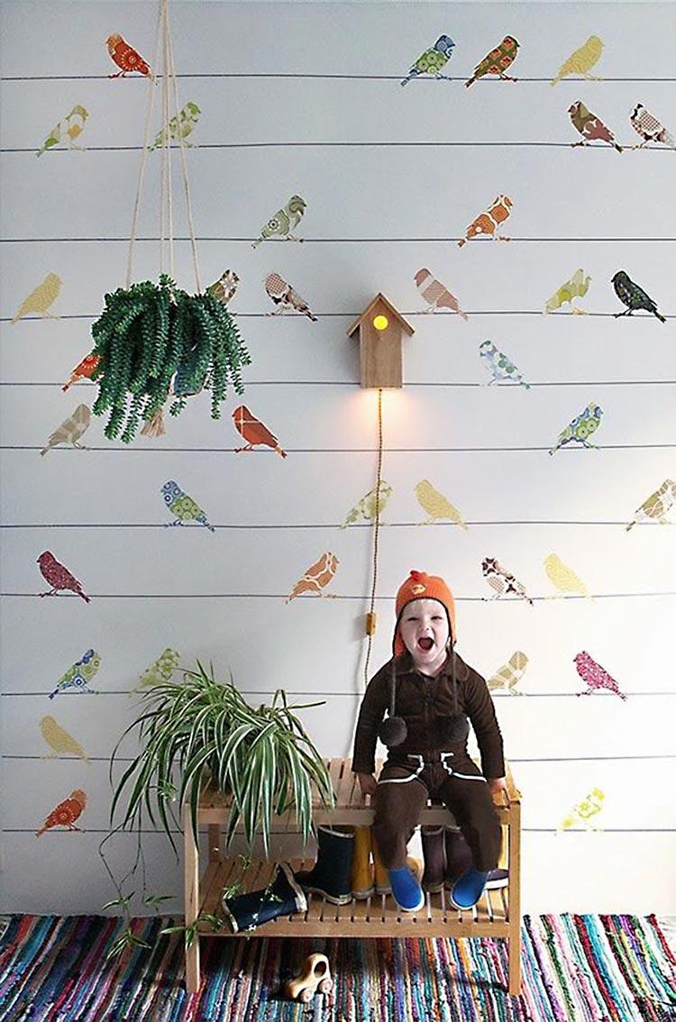 Favoritos: Papel pintado vintage niños