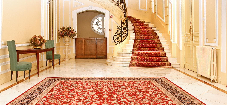 Alfombras de pasillo y escalera para empresas decoraciones mediterr neo - Alfombras para empresas ...