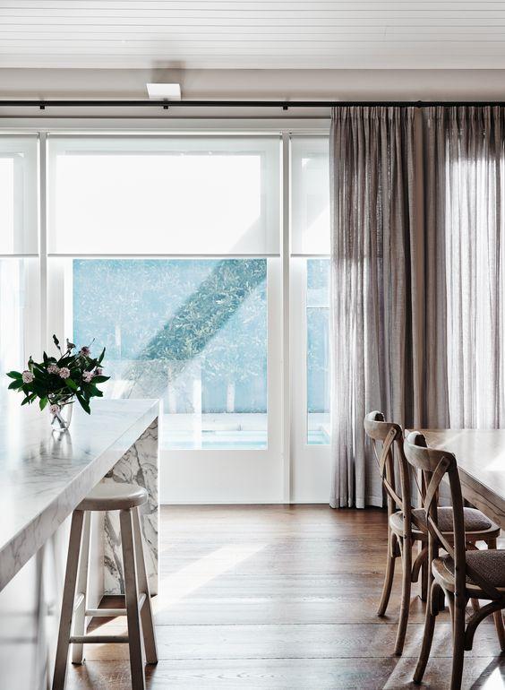 vestir tus ventanas - estores y cortinas