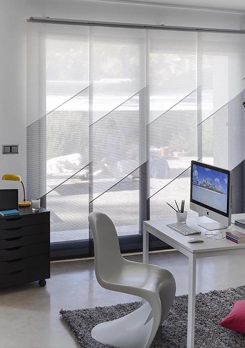 vestir tus ventanas - paneles japoneses