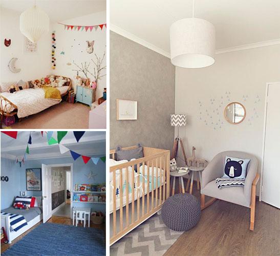 7 ideas para decorar una habitación infantil Madrid