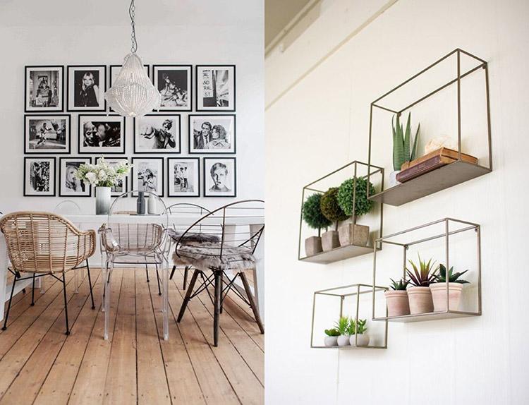 cuadros y plantas