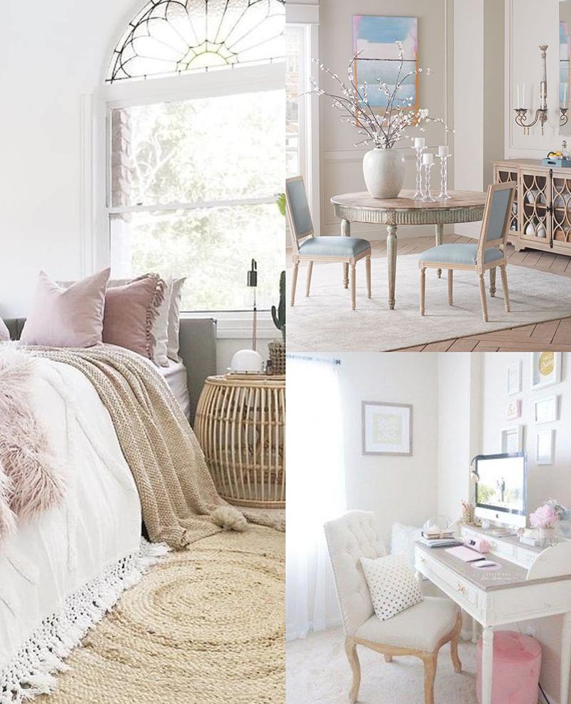 Muebles románticos
