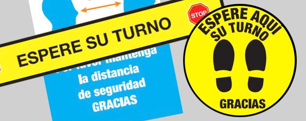 Vinilos de señalización Madrid