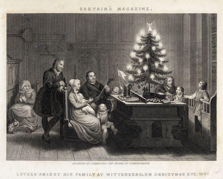 Historia de la decoración navideña: ¿De dónde viene el árbol? Madrid